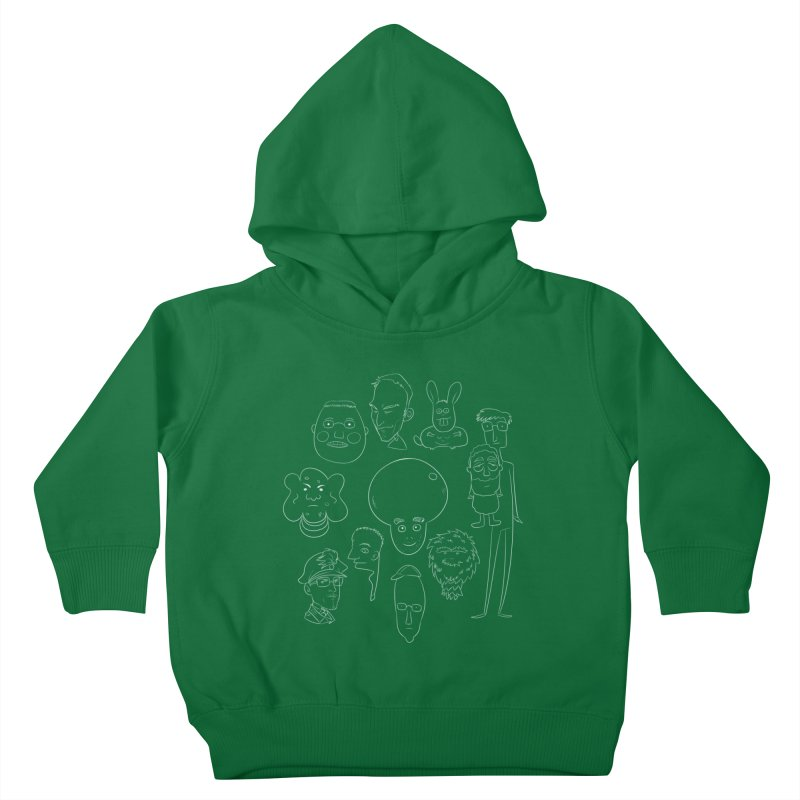 I Miei Fantastici Amici Kids Toddler Pullover Hoody by roby's Artist Shop