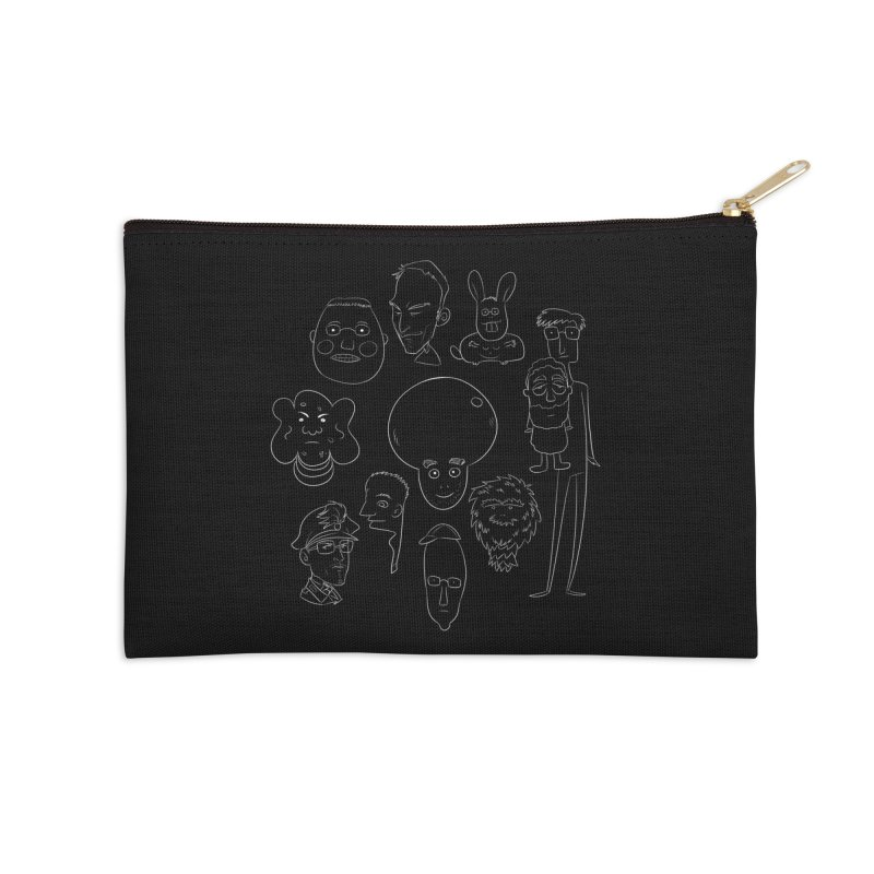 I Miei Fantastici Amici Accessories Zip Pouch by roby's Artist Shop