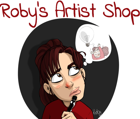 roby's Artist Shop Logo