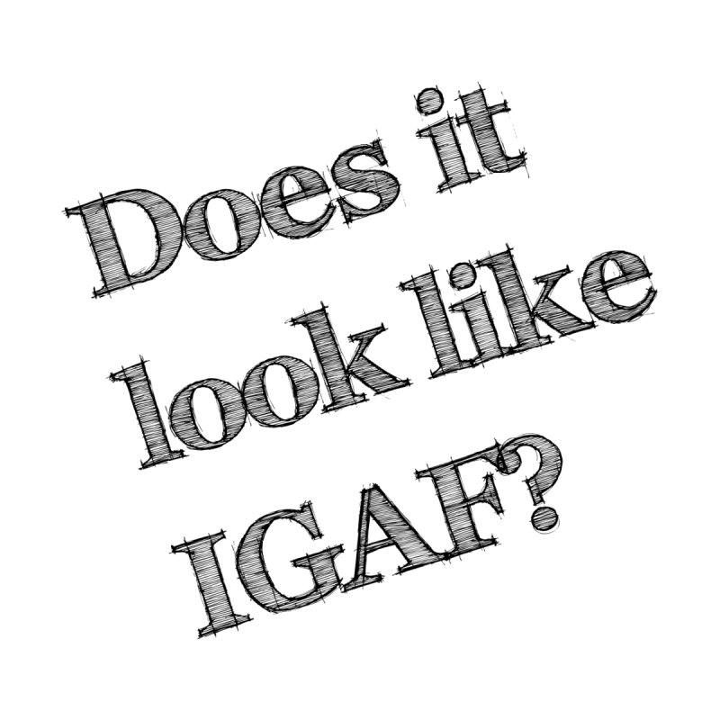 Does it look like IGAF? by Robyn Branick Book's Artist Shop