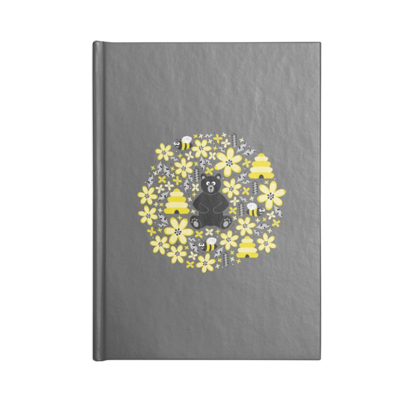Bears and Bees Accessories Notebook by Robyriker Designs - Elishka Jepson