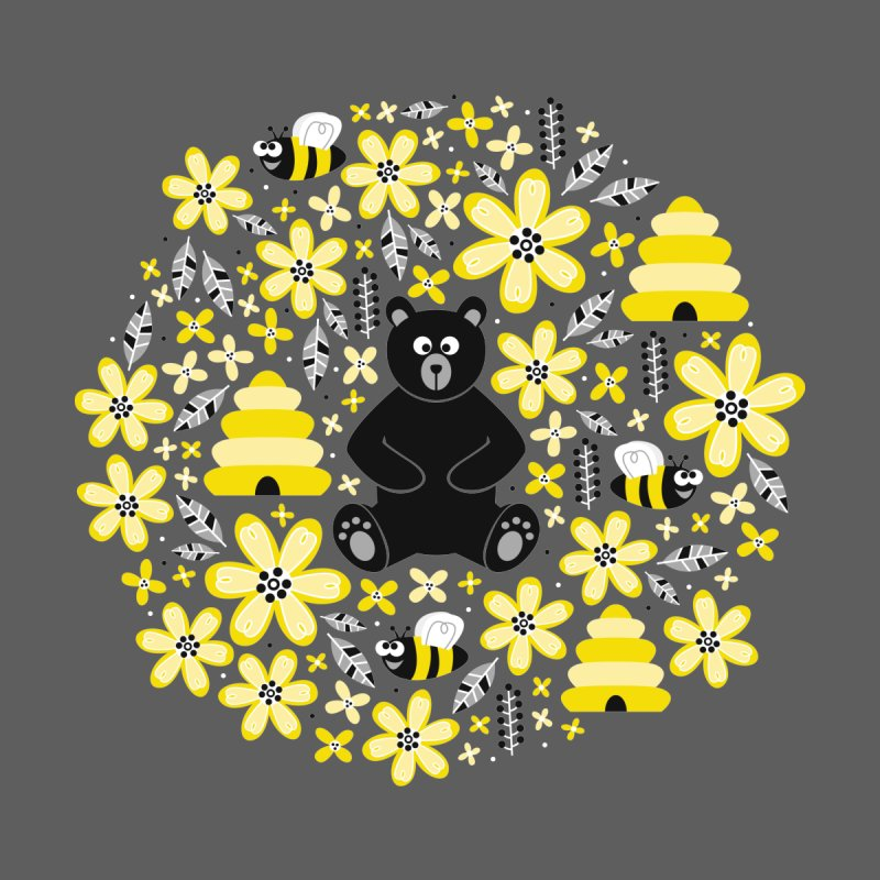 Bears and Bees None  by Robyriker Designs - Elishka Jepson