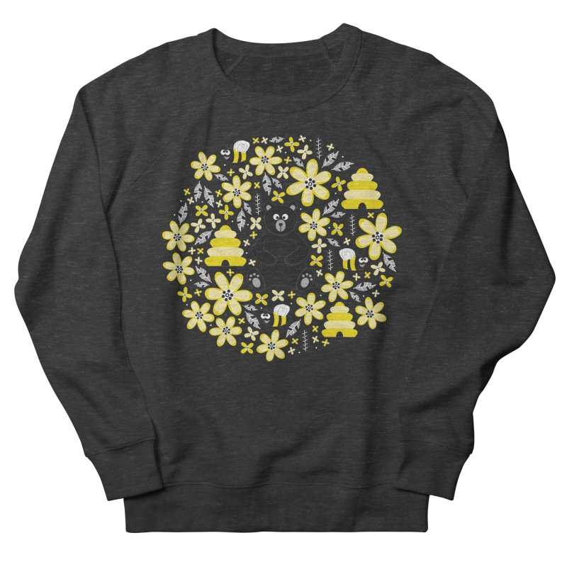 Bears and Bees Men's Sweatshirt by Robyriker Designs - Elishka Jepson