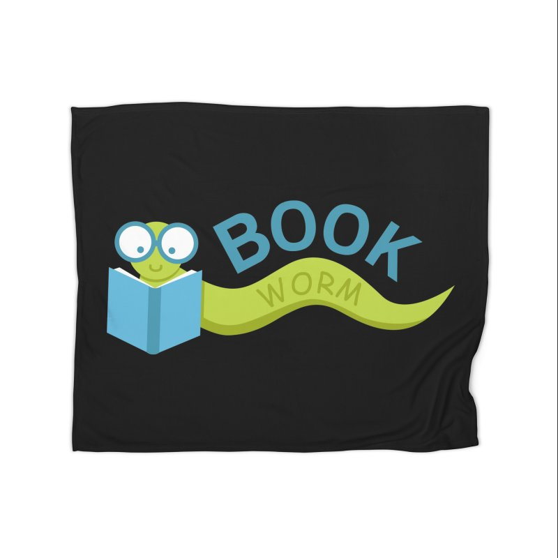 Book Worm Home Blanket by Robyriker Designs - Elishka Jepson