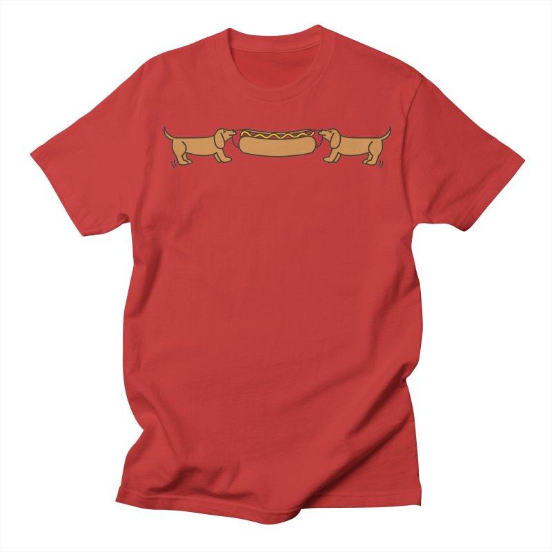 Hot Dog-O-War Men's T-shirt by Robyriker Designs - Elishka Jepson