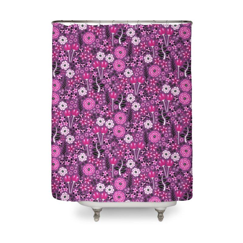 Spring Garden Home Shower Curtain by Robyriker Designs - Elishka Jepson