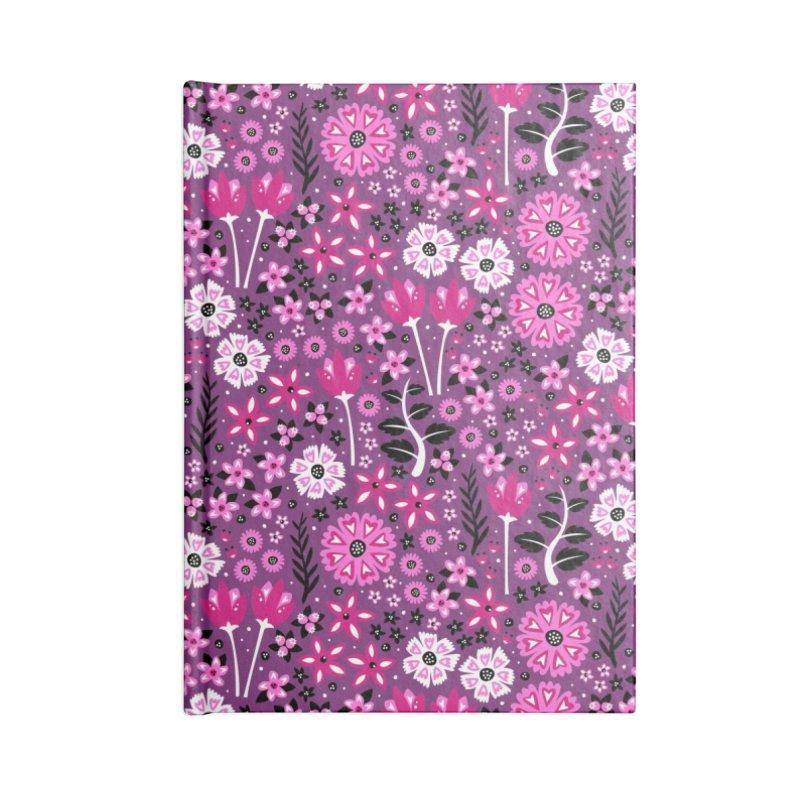 Spring Garden Accessories Notebook by Robyriker Designs - Elishka Jepson