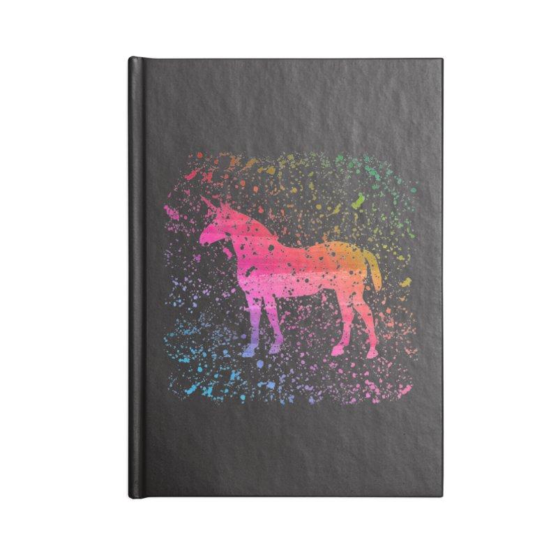 Unicorn Dreams Accessories Notebook by Robyriker Designs - Elishka Jepson