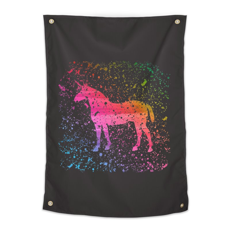 Unicorn Dreams Home Tapestry by Robyriker Designs - Elishka Jepson