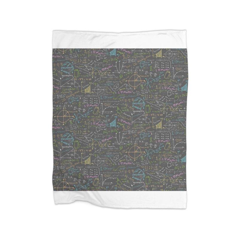 Math Lessons Home Blanket by Robyriker Designs - Elishka Jepson