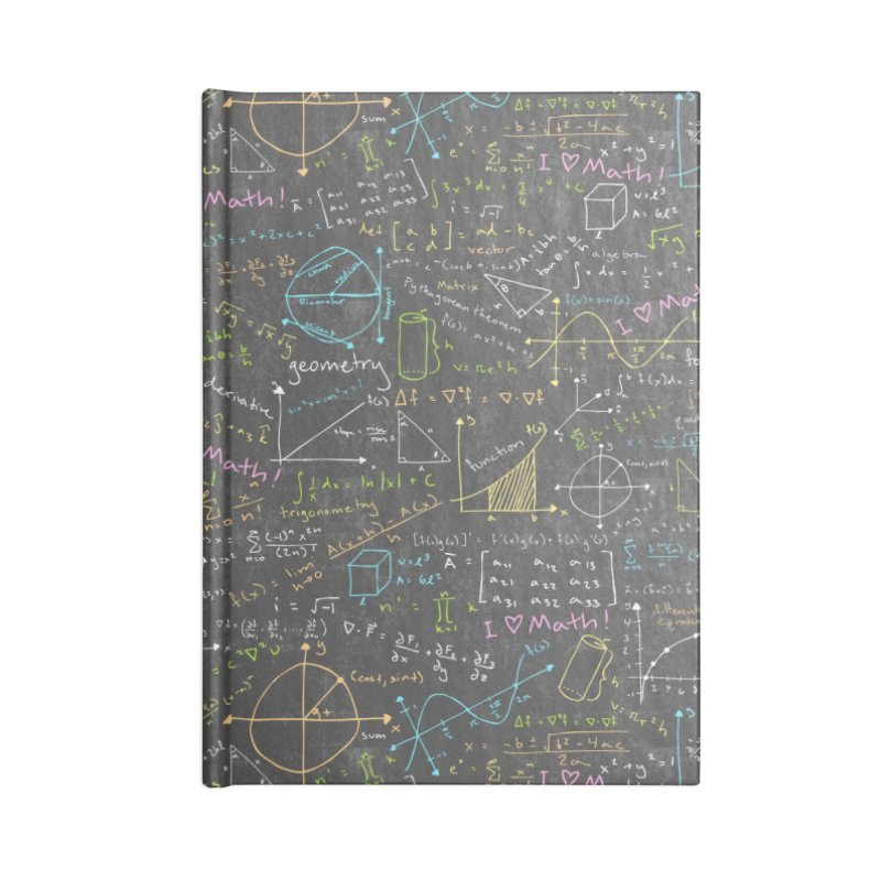 Math Lessons Accessories Notebook by Robyriker Designs - Elishka Jepson