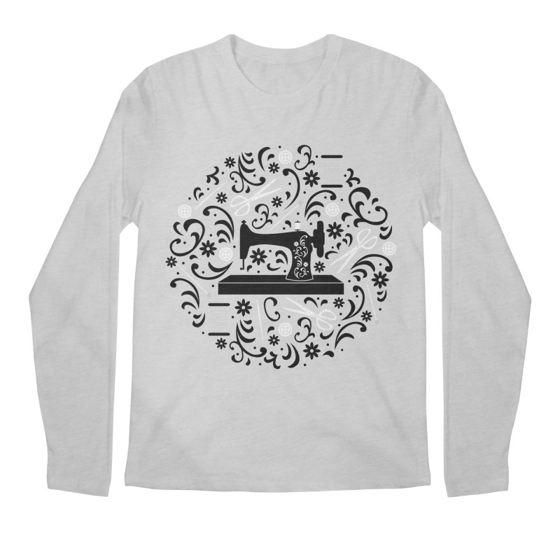 Sewing Essentials Men's Longsleeve T-Shirt by Robyriker Designs - Elishka Jepson
