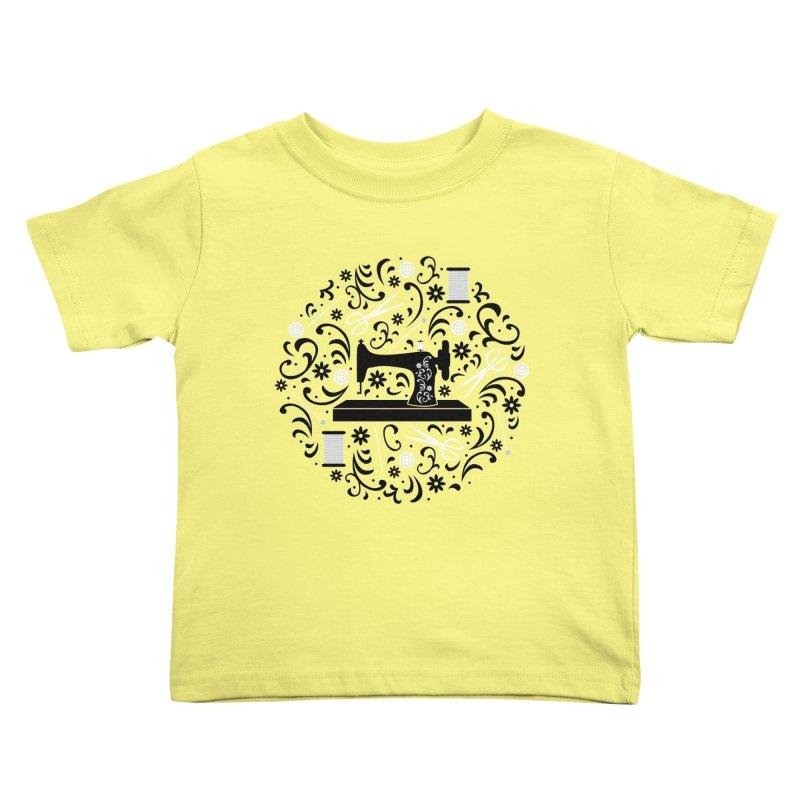 Sewing Essentials Kids Toddler T-Shirt by Robyriker Designs - Elishka Jepson