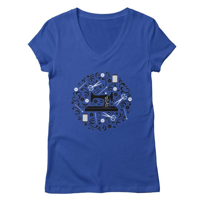 Sewing Essentials Women's V-Neck by Robyriker Designs - Elishka Jepson