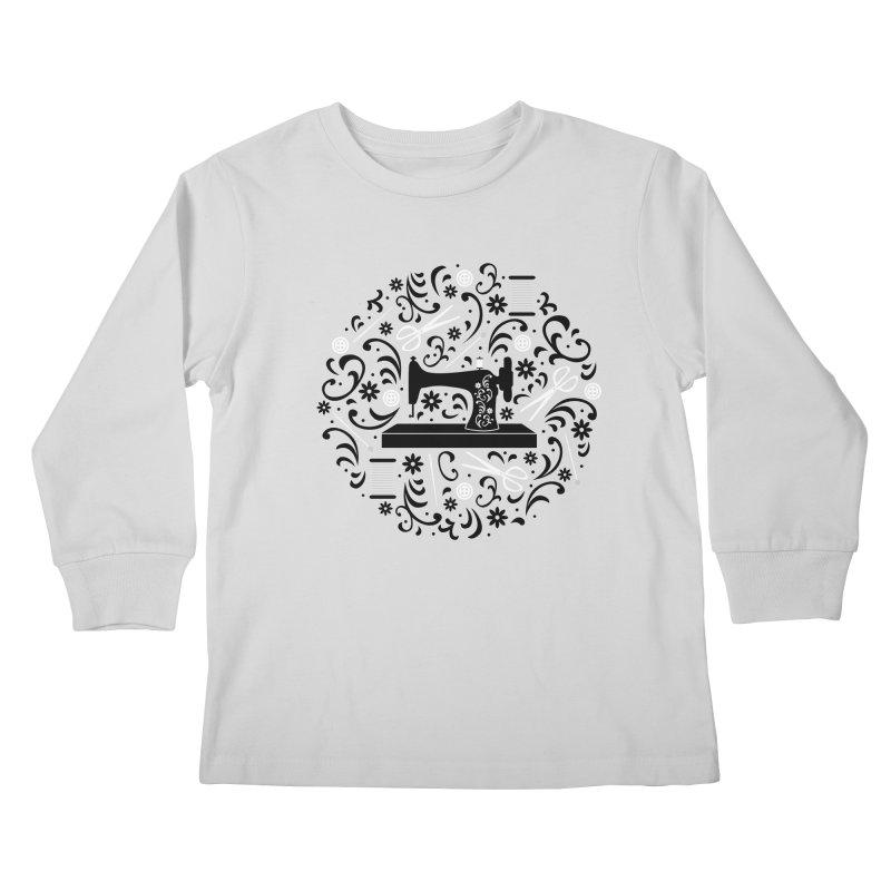 Sewing Essentials Kids Longsleeve T-Shirt by Robyriker Designs - Elishka Jepson