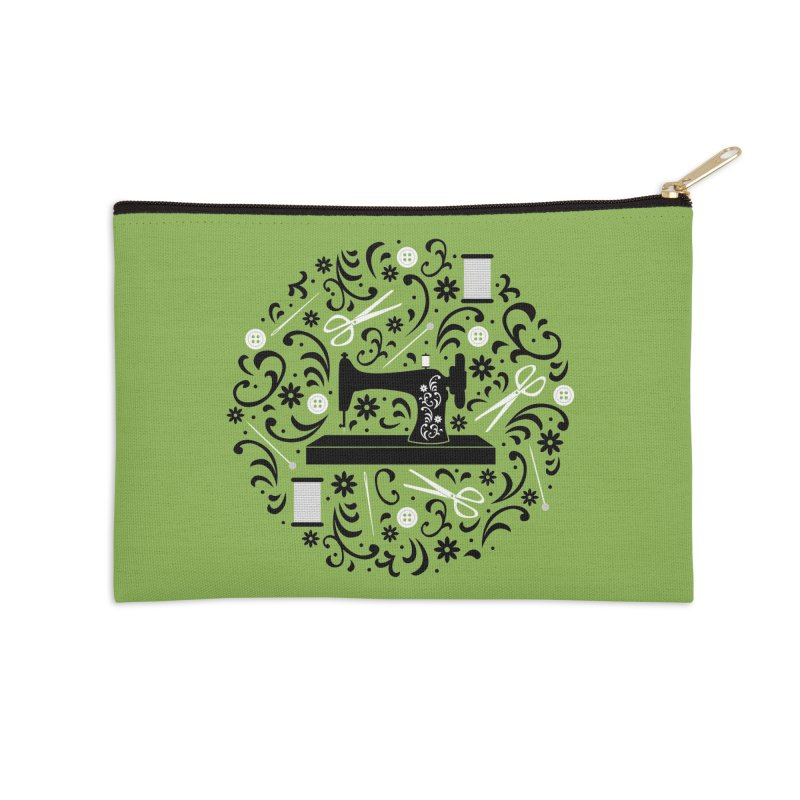 Sewing Essentials Accessories Zip Pouch by Robyriker Designs - Elishka Jepson