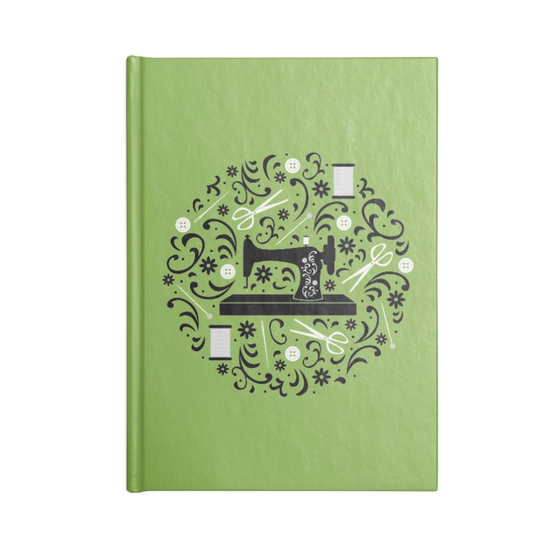 Sewing Essentials Accessories Notebook by Robyriker Designs - Elishka Jepson