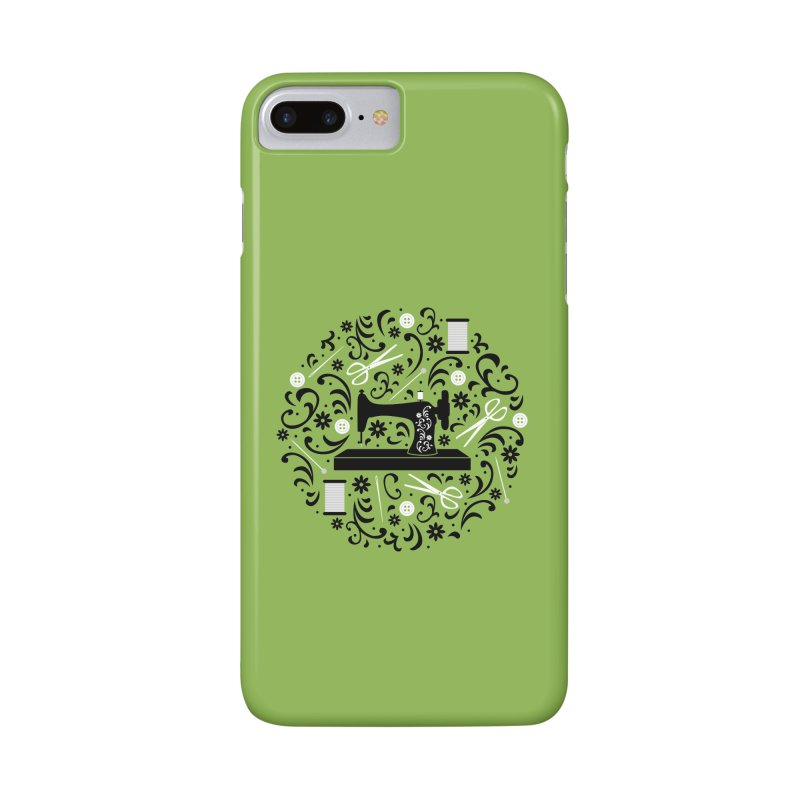 Sewing Essentials Accessories Phone Case by Robyriker Designs - Elishka Jepson