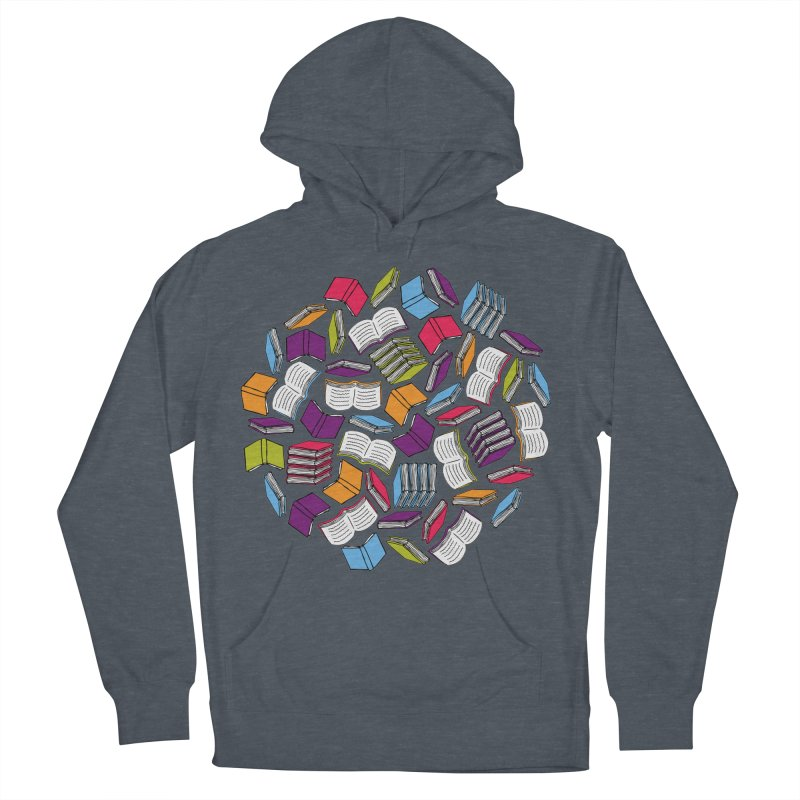 So Many Books... Women's Pullover Hoody by Robyriker Designs - Elishka Jepson