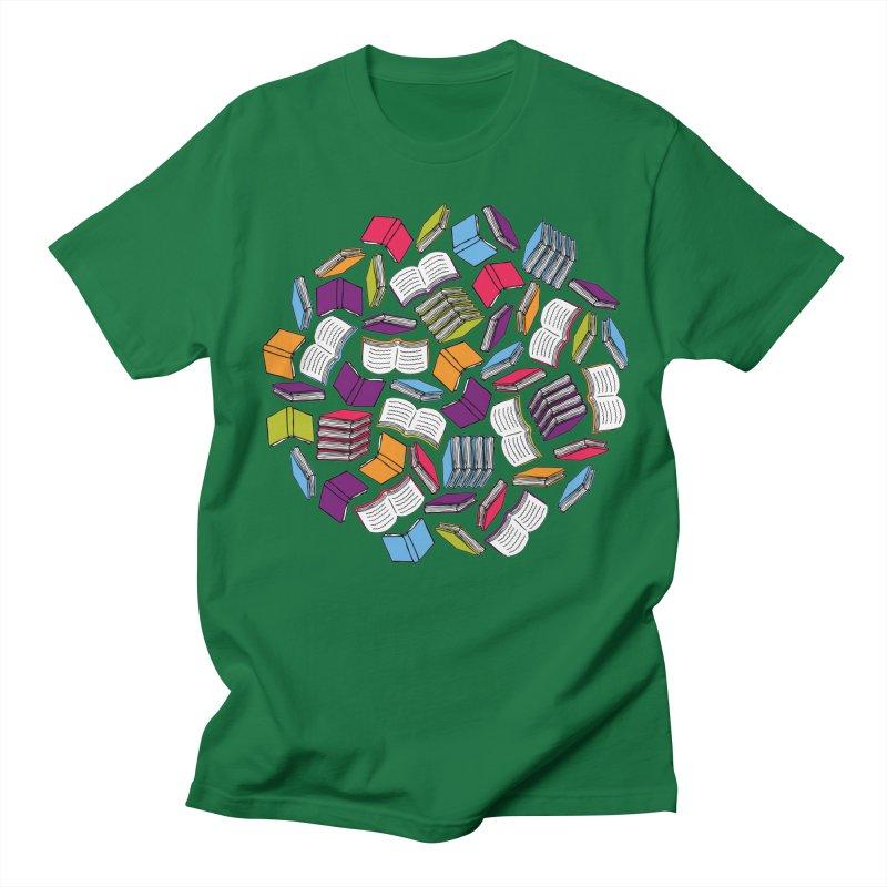 So Many Books... Men's T-shirt by Robyriker Designs - Elishka Jepson