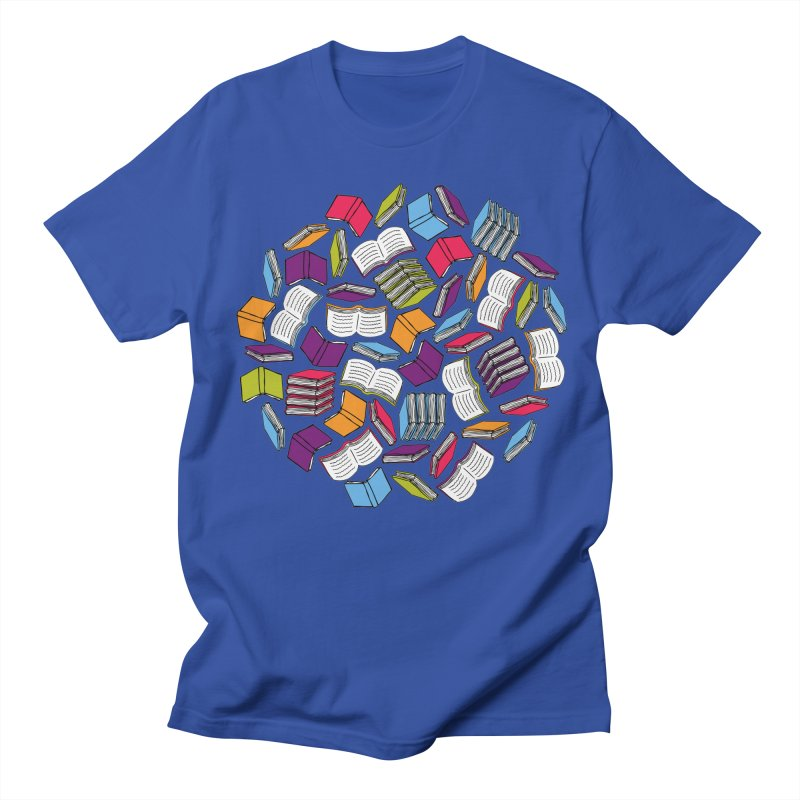 So Many Books... Men's T-Shirt by Robyriker Designs - Elishka Jepson