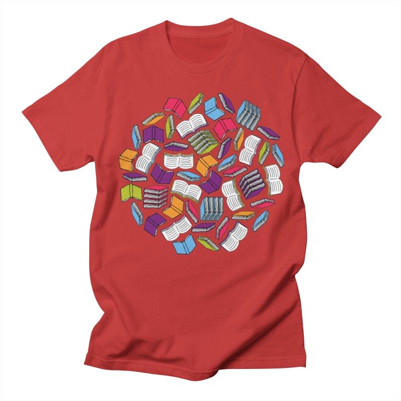 So Many Books... Women's Unisex T-Shirt by Robyriker Designs - Elishka Jepson