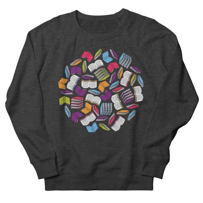 So Many Books... Women's Sweatshirt by Robyriker Designs - Elishka Jepson