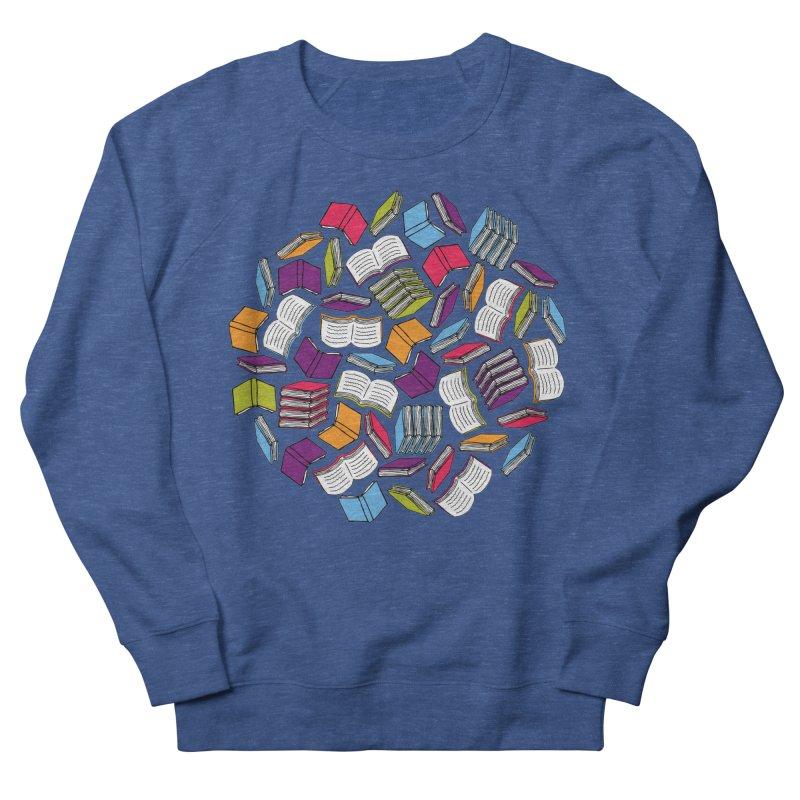 So Many Books... Men's Sweatshirt by Robyriker Designs - Elishka Jepson