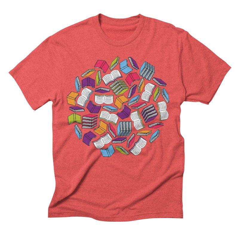 So Many Books... Men's Triblend T-Shirt by Robyriker Designs - Elishka Jepson