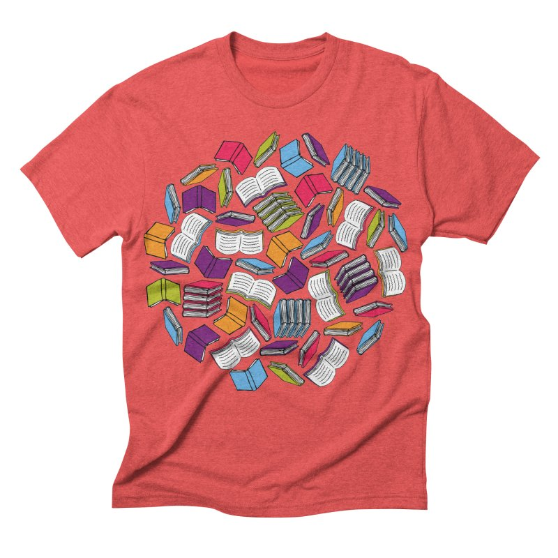 So Many Books... Men's Triblend T-shirt by Robyriker Designs - Elishka Jepson