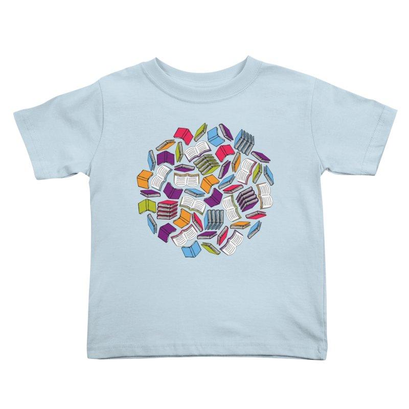 So Many Books... Kids Toddler T-Shirt by Robyriker Designs - Elishka Jepson