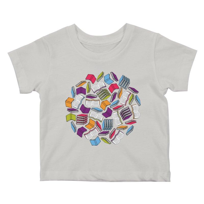 So Many Books... Kids Baby T-Shirt by Robyriker Designs - Elishka Jepson