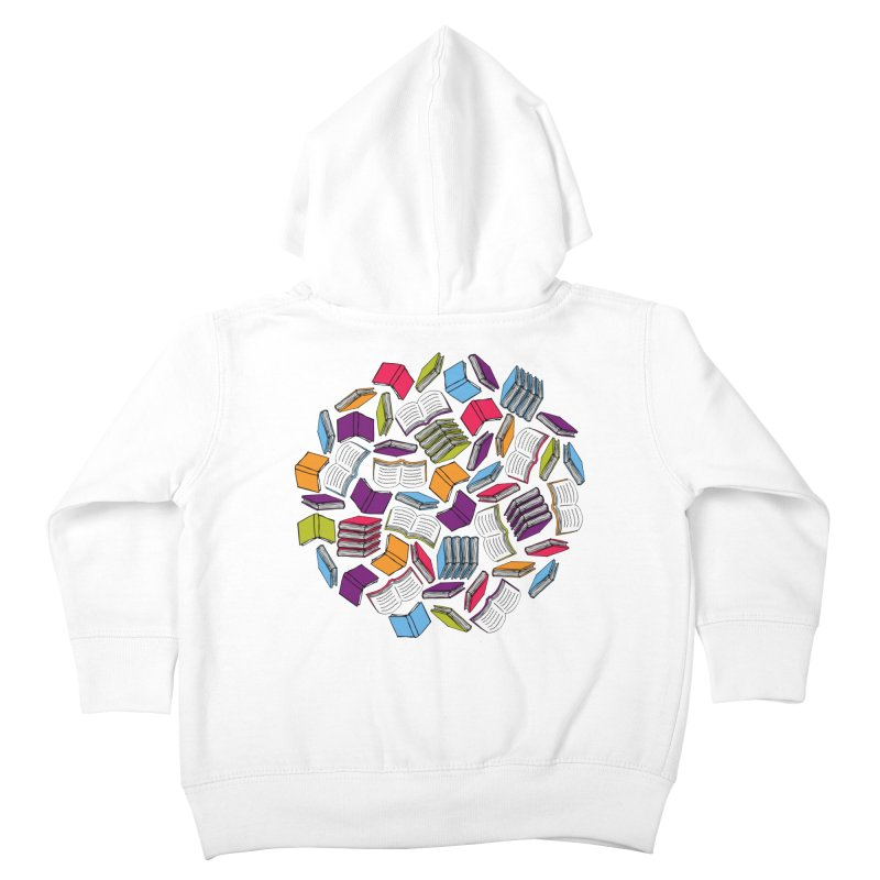 So Many Books... Kids Toddler Zip-Up Hoody by Robyriker Designs - Elishka Jepson