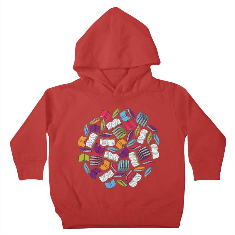 So Many Books... Kids Toddler Pullover Hoody by Robyriker Designs - Elishka Jepson