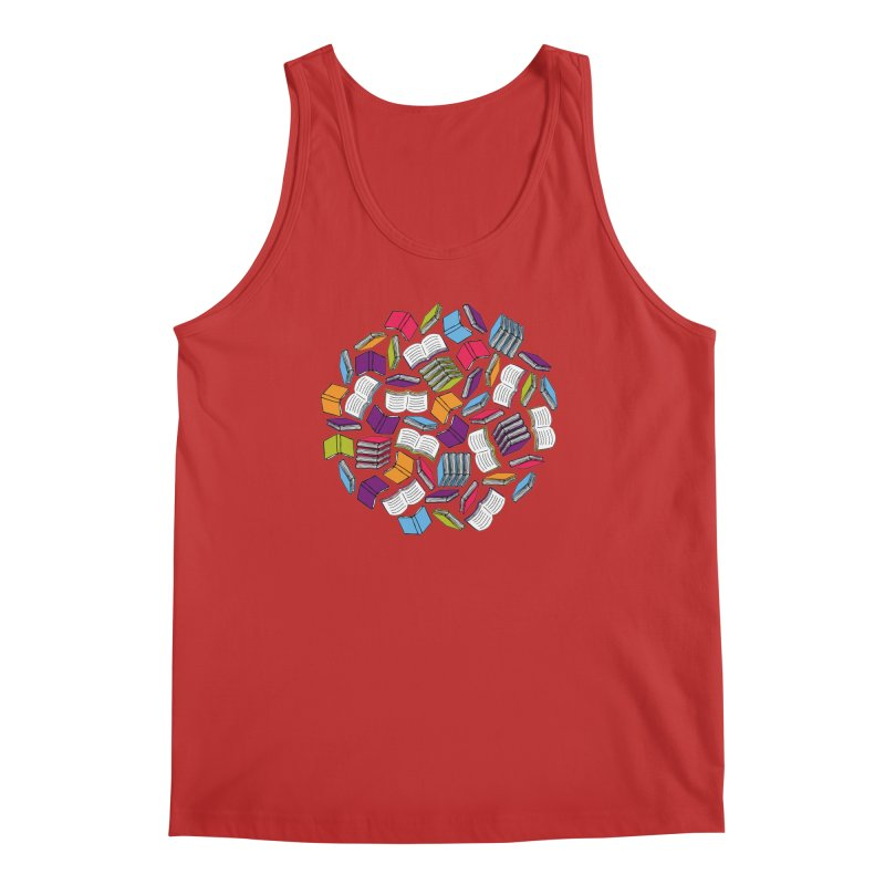 So Many Books... Men's Tank by Robyriker Designs - Elishka Jepson
