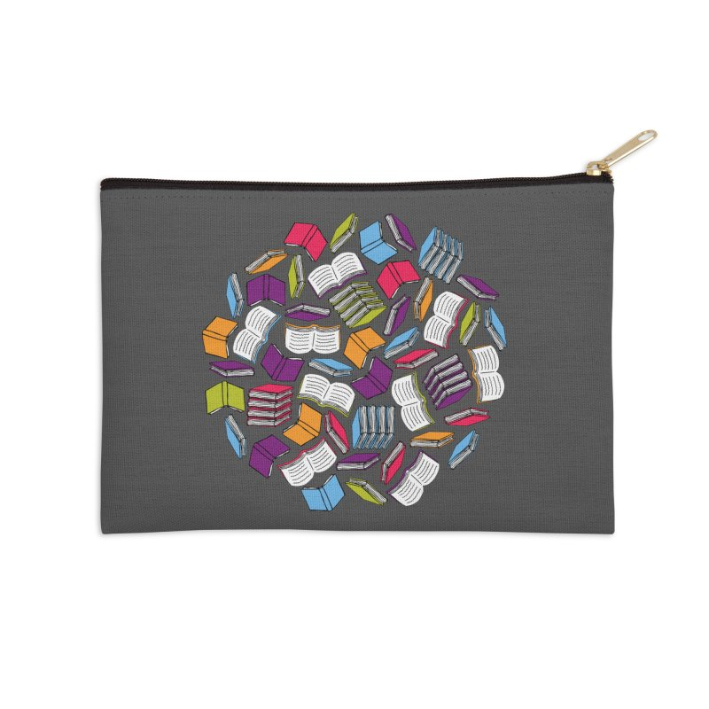 So Many Books... Accessories Zip Pouch by Robyriker Designs - Elishka Jepson