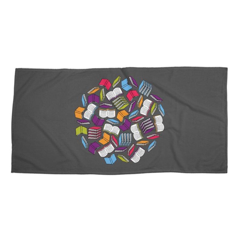 So Many Books... Accessories Beach Towel by Robyriker Designs - Elishka Jepson