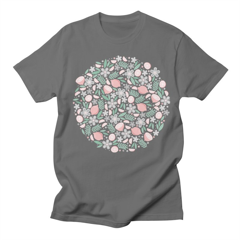 Pink Lemons Men's T-Shirt by Robyriker Designs - Elishka Jepson