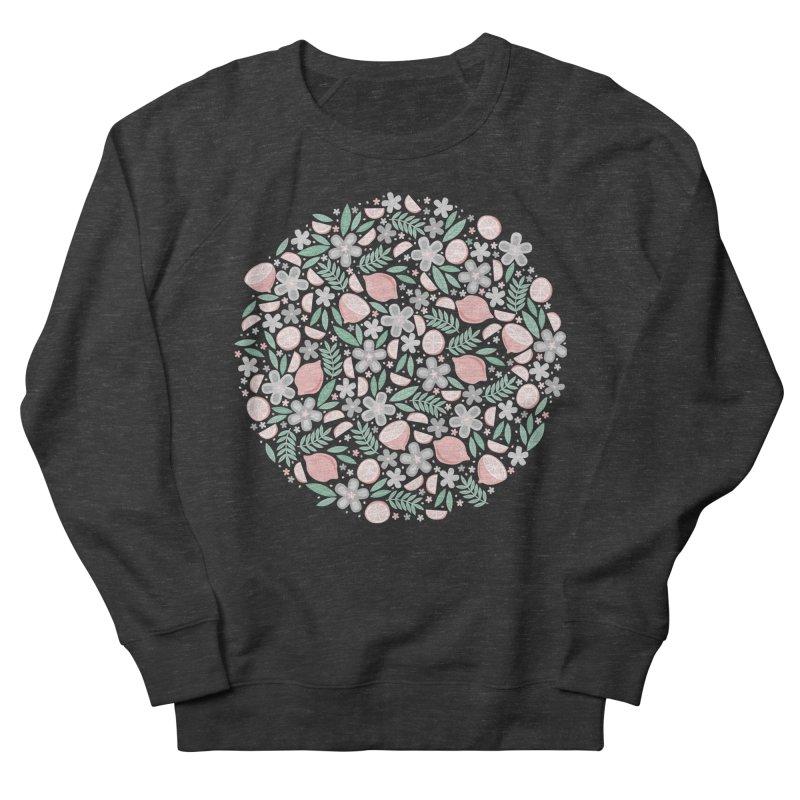 Pink Lemons Women's Sweatshirt by Robyriker Designs - Elishka Jepson
