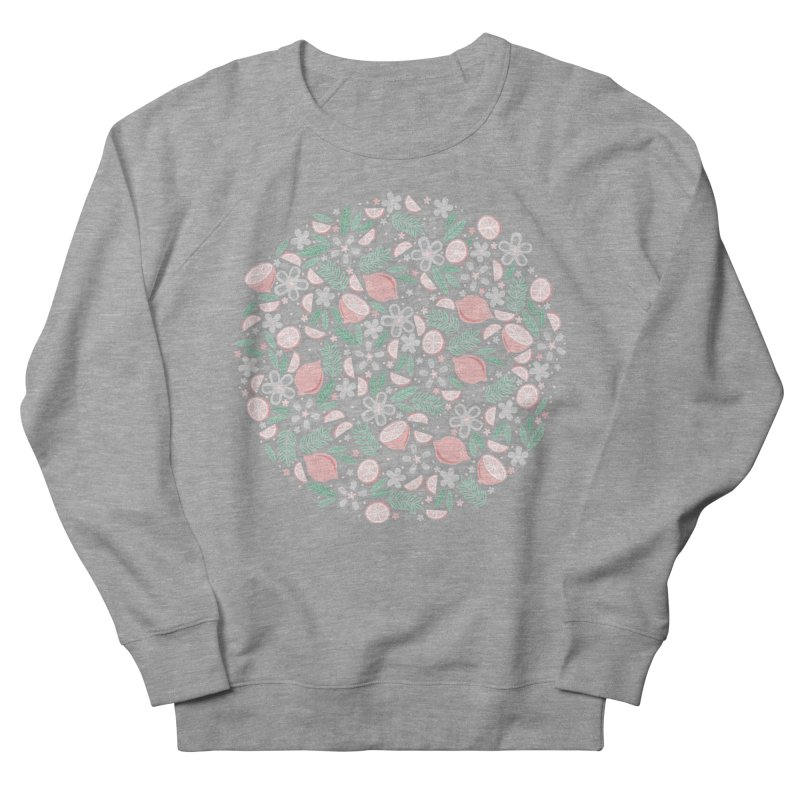 Pink Lemons Women's Sweatshirt by Robyriker Designs - Elishka Jepson