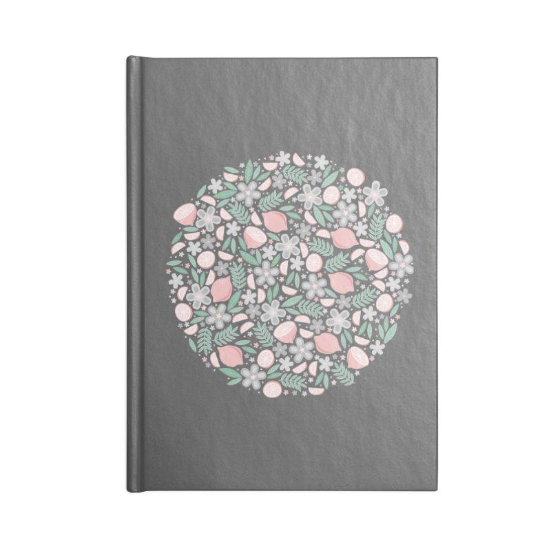 Pink Lemons Accessories Notebook by Robyriker Designs - Elishka Jepson