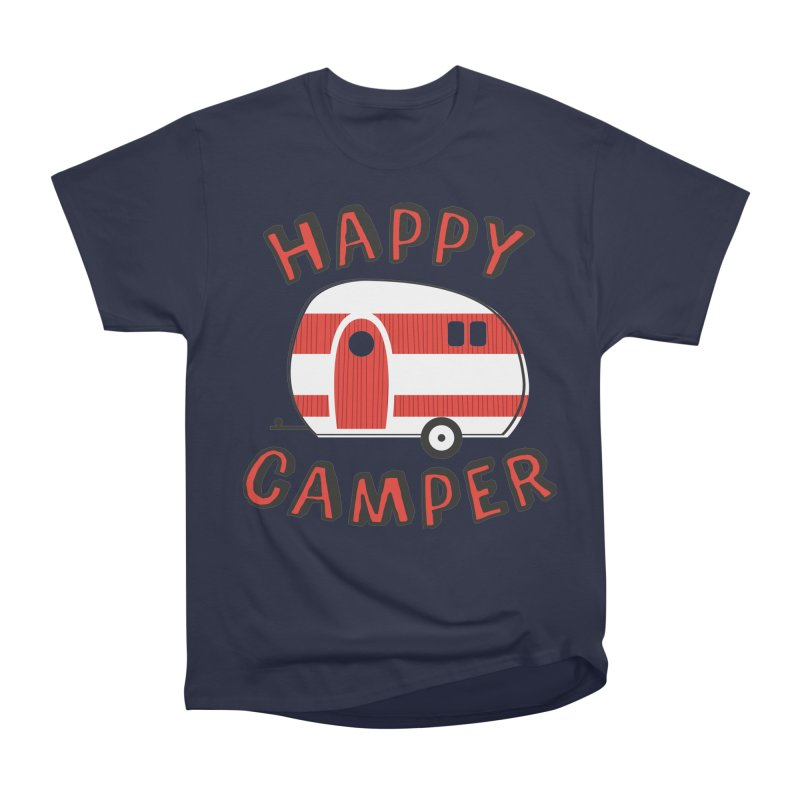 Happy Camper Men's Classic T-Shirt by Robyriker Designs - Elishka Jepson