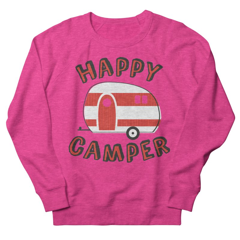 Happy Camper Women's Sweatshirt by Robyriker Designs - Elishka Jepson