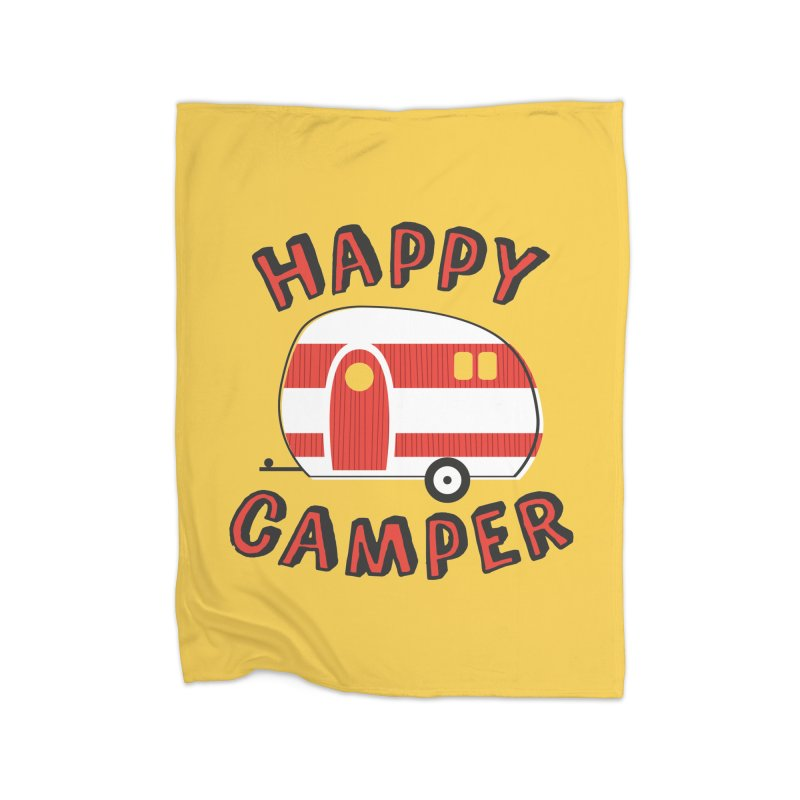 Happy Camper Home Blanket by Robyriker Designs - Elishka Jepson