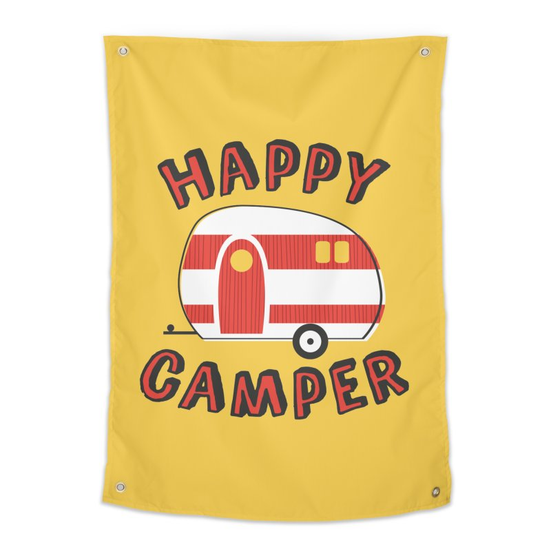Happy Camper Home Tapestry by Robyriker Designs - Elishka Jepson