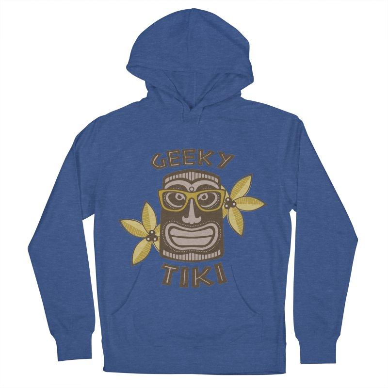 Geeky Tiki Men's Pullover Hoody by Robyriker Designs - Elishka Jepson