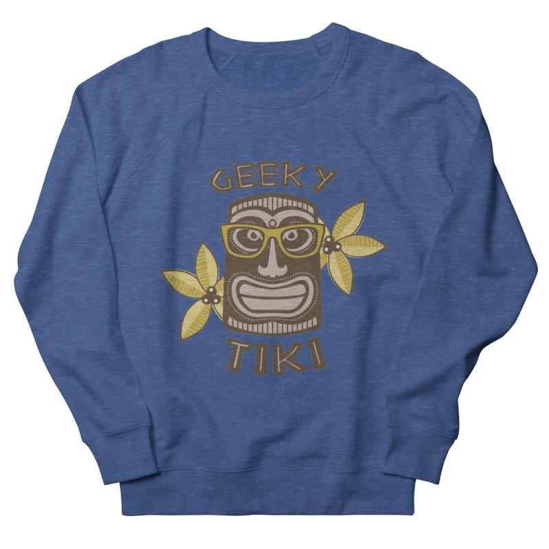 Geeky Tiki Women's Sweatshirt by Robyriker Designs - Elishka Jepson