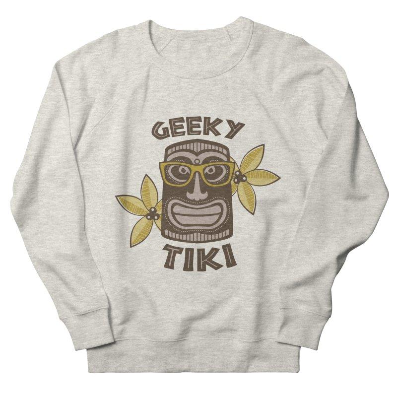 Geeky Tiki Men's Sweatshirt by Robyriker Designs - Elishka Jepson