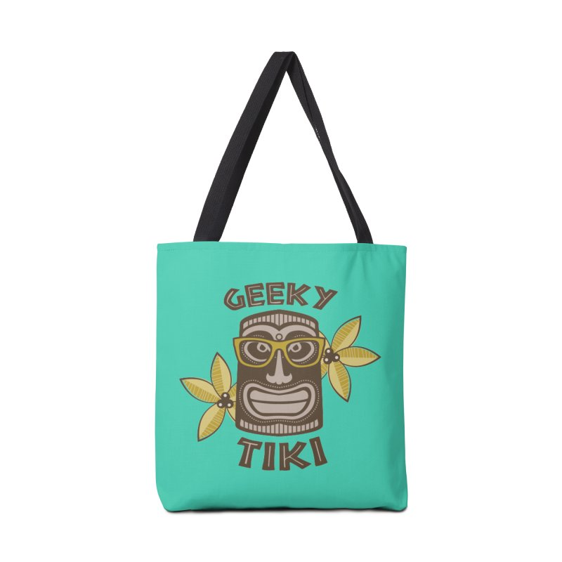 Geeky Tiki Accessories Bag by Robyriker Designs - Elishka Jepson