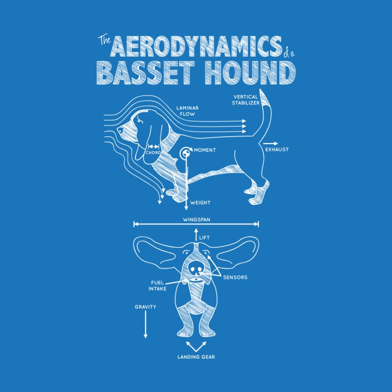 The Aerodynamics of a Basset Hound by Robyriker Designs - Elishka Jepson